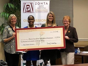 Zonta Club of Bonita Springs-Estero Helps Teens in Recent Fundraisers is Accepting Scholarship and Grant Applications for 2018 - Feb 15 2018 1128AM