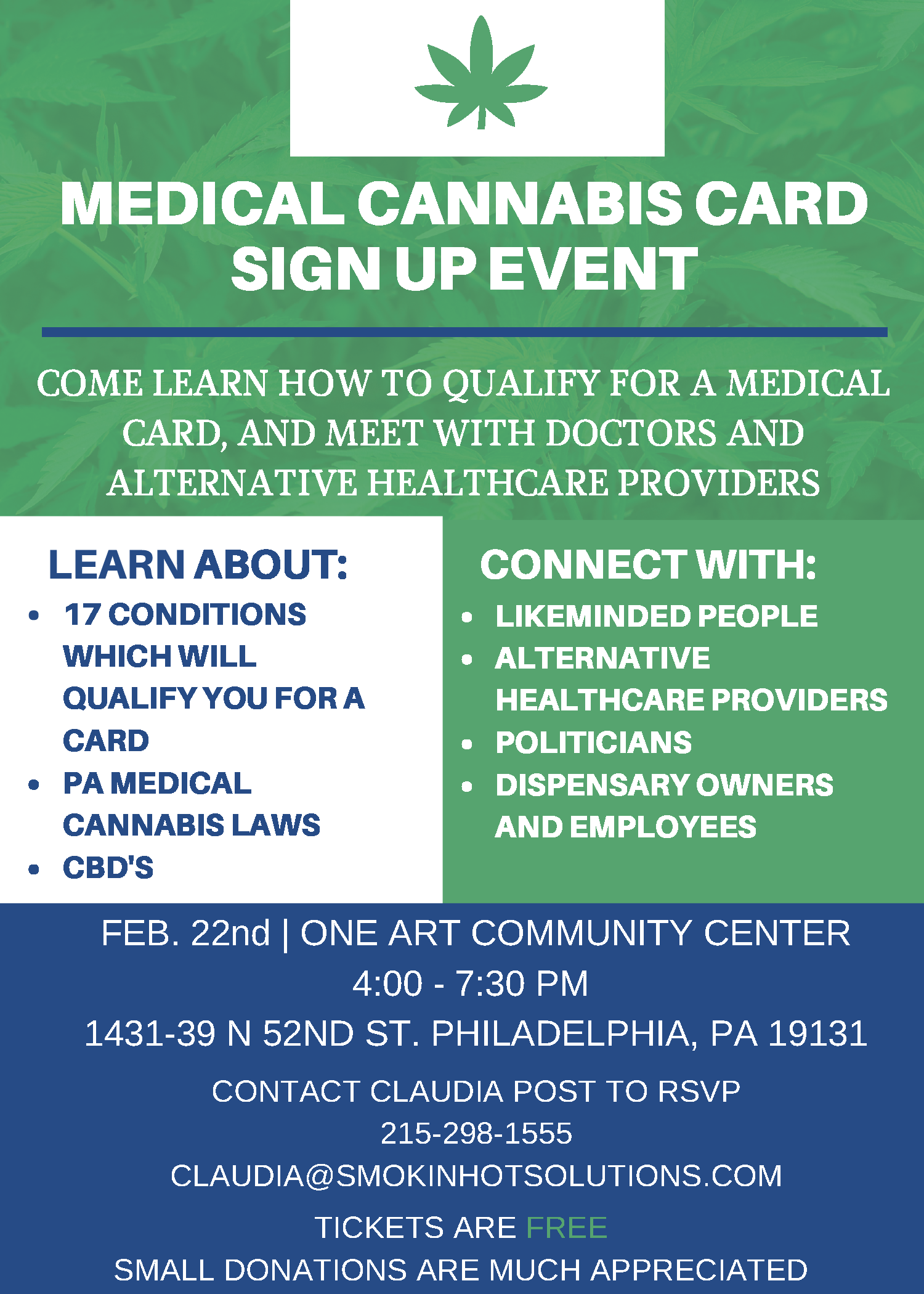 Medical 20cannabis 20event 20flyer