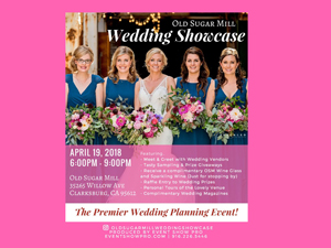 Old sugar mill wedding showcase sacramento bridal show april 2019 2018 300 20x 20225