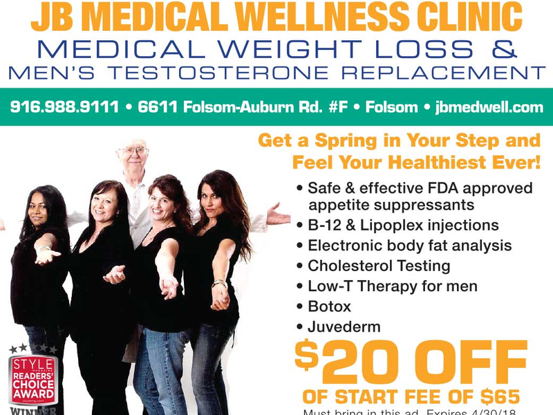 Jb Medical Wellness Clinic Style Roseville Granite Bay Rocklin