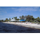 Cape Coral's Yacht Club Community Park has its own white sandy beach on the banks of the Caloosahatchee River. Photo courtesy of Cape Coral Parks & Recreation.