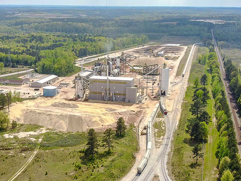 Enviva Acquires Greenwood County Pellet Plant Greenville