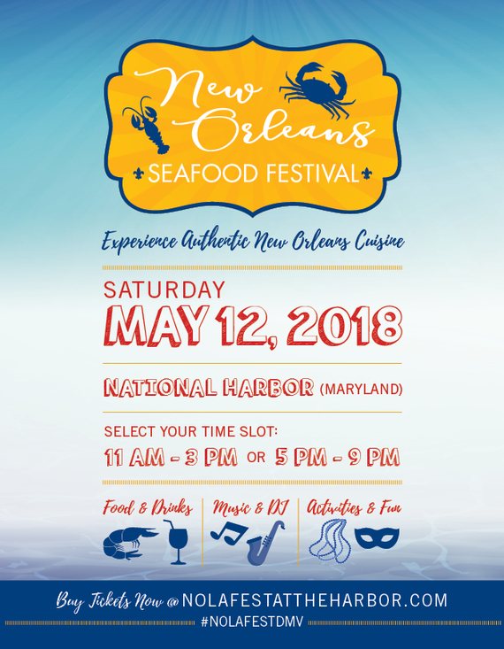 No seafood festival flyer