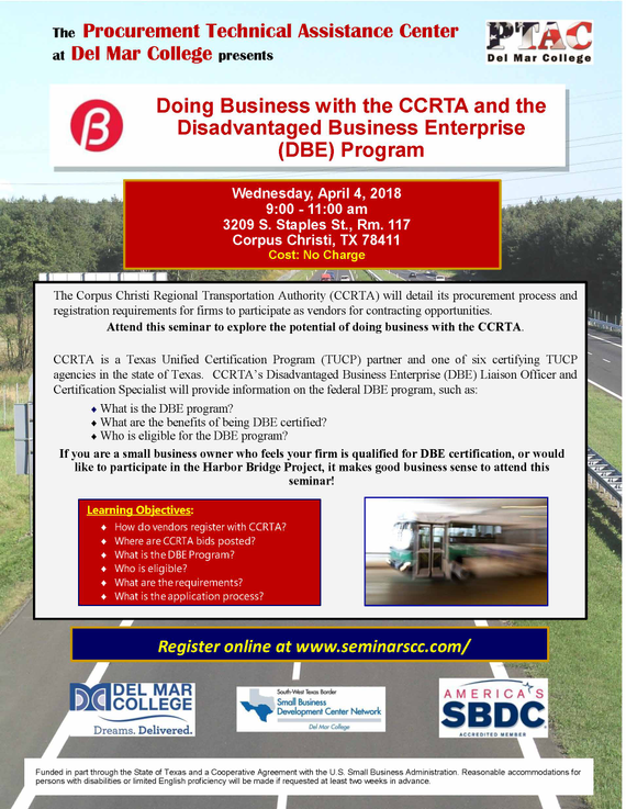 Final ptac 202018 20ccrta 20dbe 20flyer