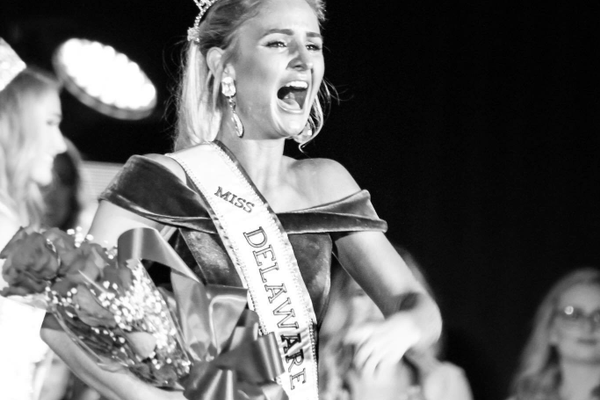 Close is crowned at the Miss Delaware Teen USA pageant.
