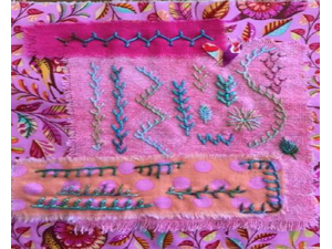 Endless Embroidery with Susan Edmonson - start Jun 06 2018 1030AM
