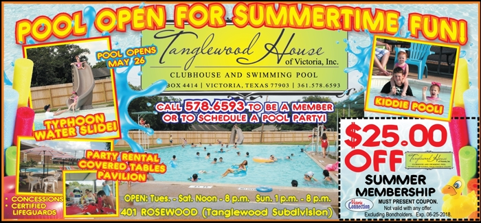 Tanglewood 20house 20pool 20  20vc 20  20april may 202018