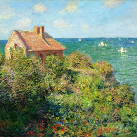Monet fishermans cottage