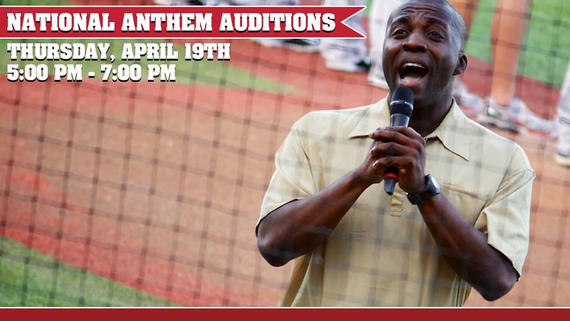 National Anthem Auditions