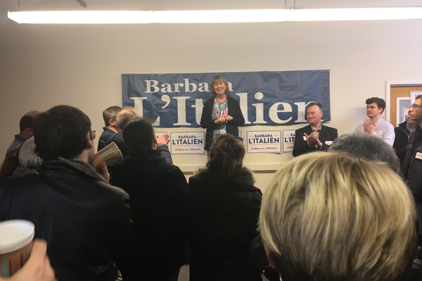 Barbara L'Italien Opens Congressional Office In Andover