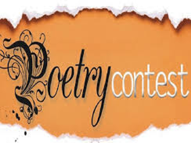Teen poem contest