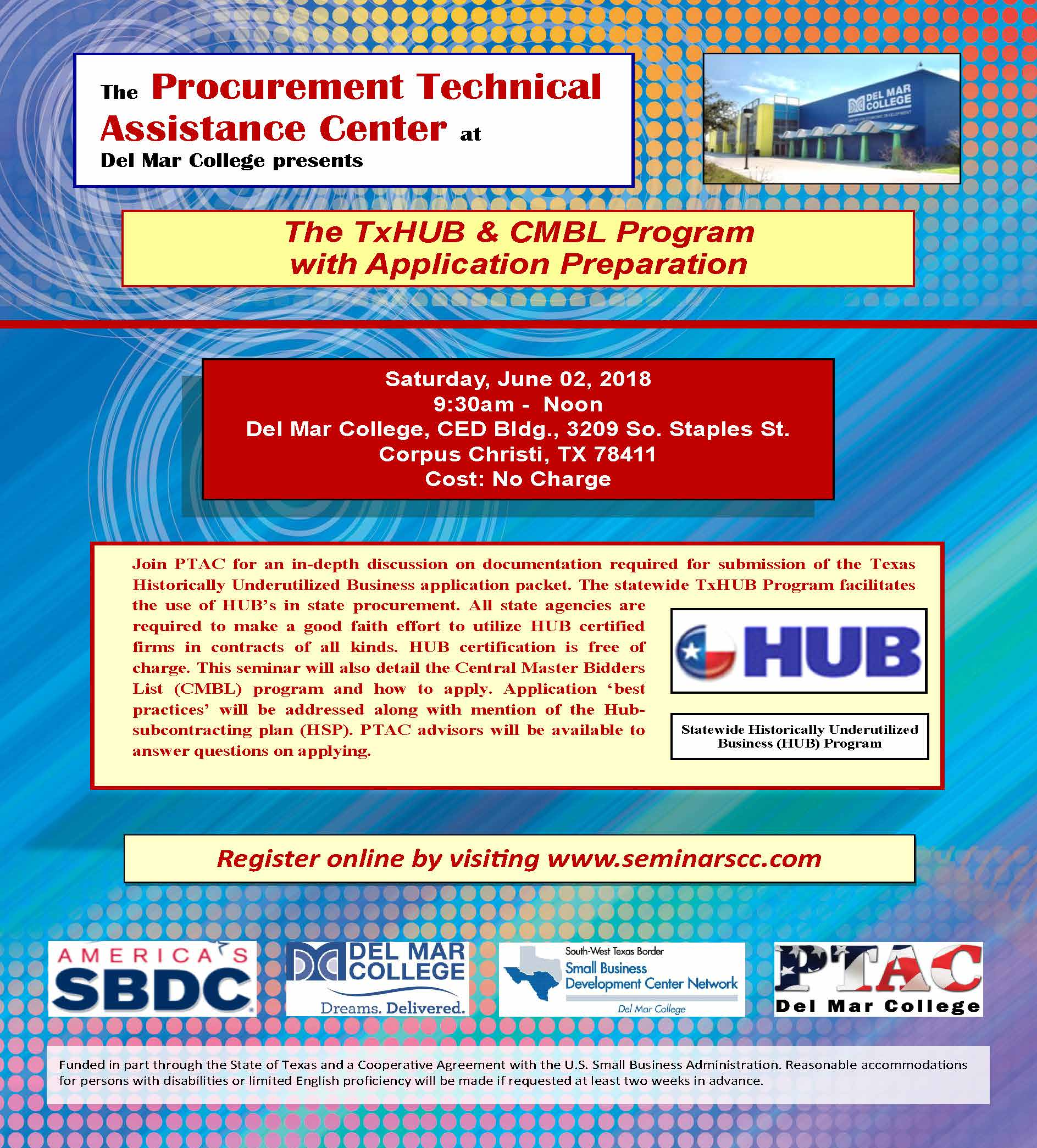 Final ptac txhub  20flyer 06june2018
