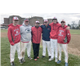 Shown above L-R are Alex Gonfrade Jake Meisner coach Paul Jacques  JB Tselikis Jack Bennett and Cee-Jay Laquerre