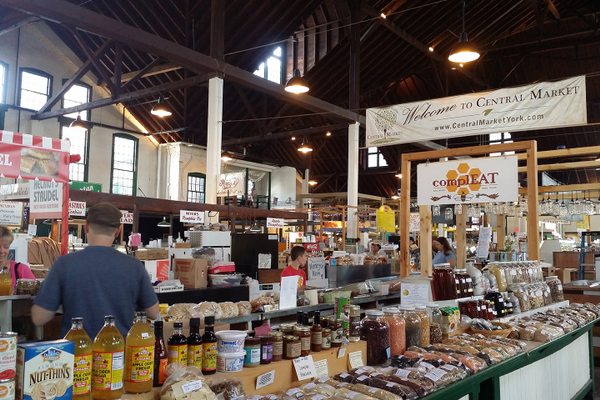 Central Market in York, PA