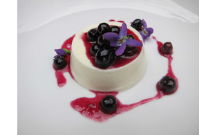 Placergrown greek yougurt panna cotta blue berries nutrition style magazine roseville granite bay rocklin local matters