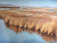 Blackwater marsh acrylic paste evie baskin