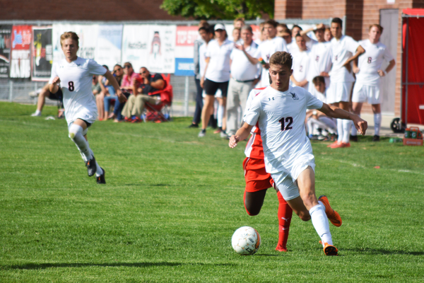 Alta's Christian Simmons goes on the attack. (Justin Adams | City Journals)