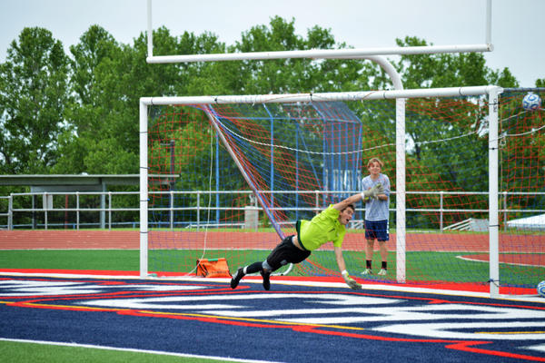Skyline's keeper was unable to get a hand on this penalty kick taken by Alta's Kenny Kocherscheidt. (Justin Adams | City Journals)