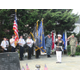 The Color Guard from the William W. Fahey American Legion Post 491 in Kennett Square.