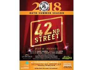 42nd Street - start Jul 18 2018 0200PM