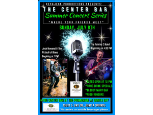 Blues and Bloodys Sunday Concert Series  - start Jul 08 2018 1200PM