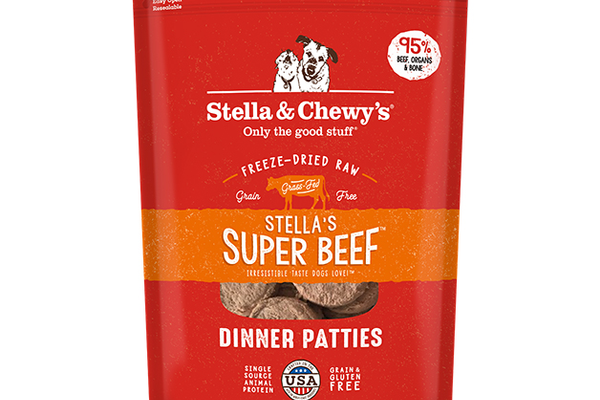 Stella & Chewy's Freeze Dried Raw Super-Beef Dinner Patties