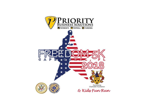 Freedom 5K  Kids Fun Run 2018 - start Jul 04 2018 0700AM
