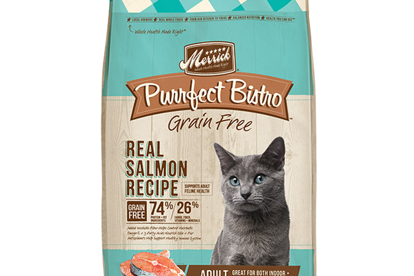 Merrick Purrfect Bistro Grain Free Real Salmon Dry Cat Food Recipe