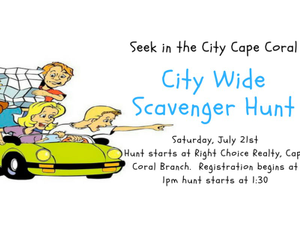 Scavenger Hunt Fundraiser - start Jul 21 2018 0100PM