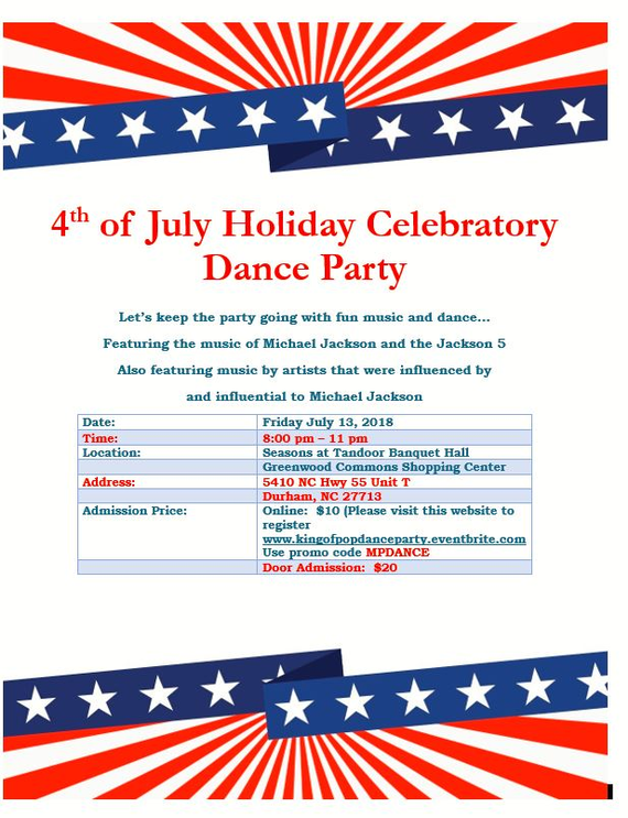 4th 20of 20july 20holiday 20celebratory 20dance 20party