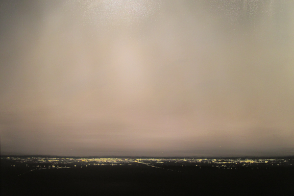 'Distant Lights, Dusk' by Robert Wellings.