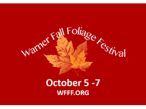 2018 Warner Fall Foliage Festival - start Oct 05 2018 0600PM