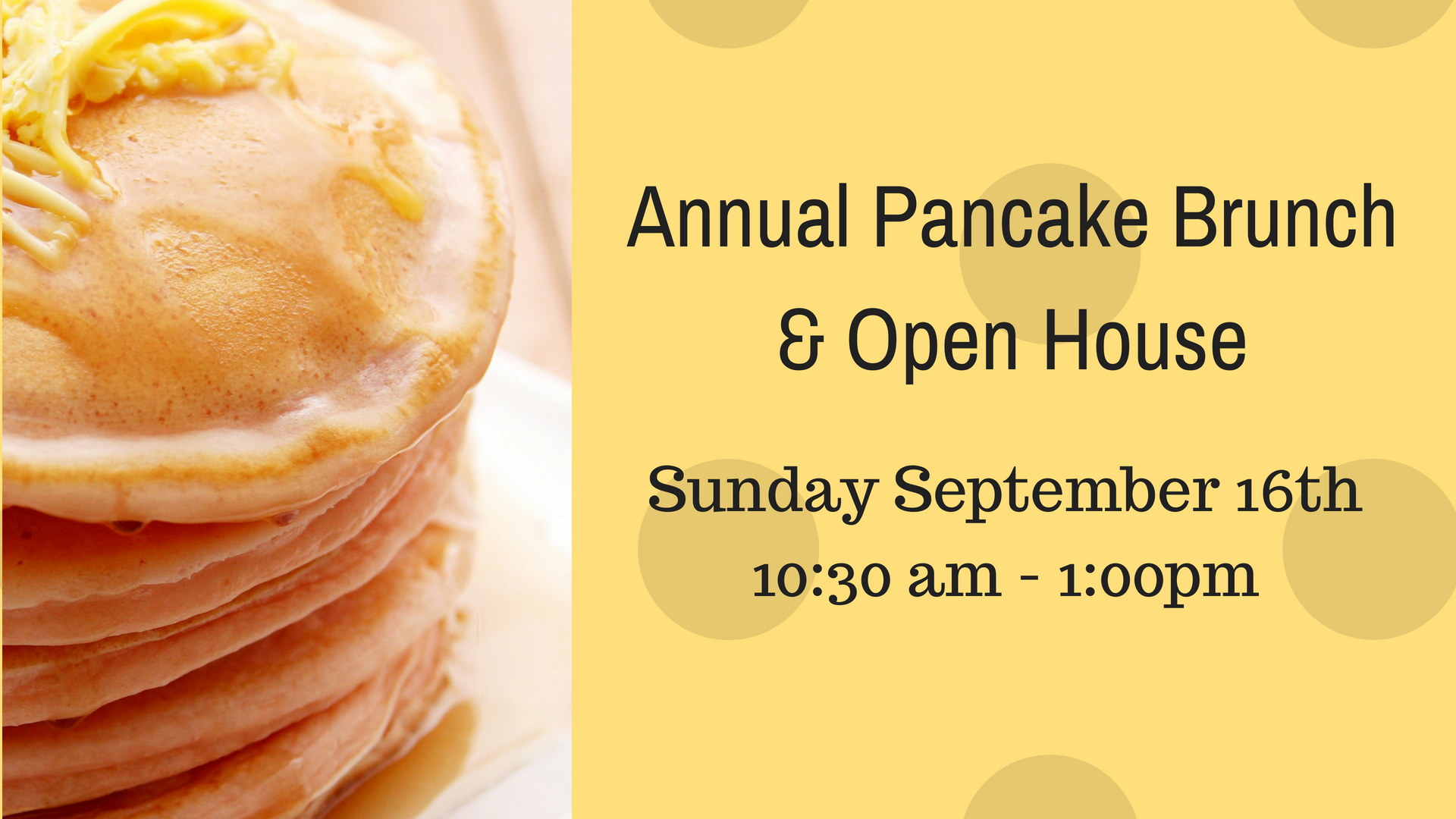 Annual 20pancake 20brunch 20  20open 20house