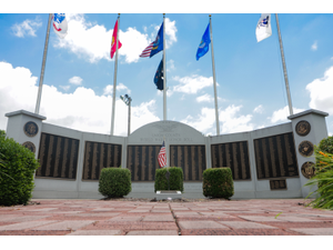 Veterans Day Ceremony at Union County WWII Honor Role - Sep 10 2018 0628PM