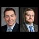 Incumbent MA state senator Ryan Fattman left and challenger Tom Merolli