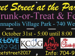 Sweet Street at the Park - start Oct 31 2018 0500PM