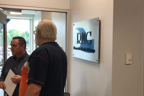 Visitors had a chance to tour the new Circle Health Dracut facility.
