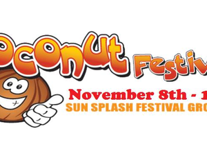 Cape Coral Coconut Festival - start Nov 08 2018 0500PM