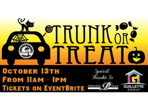 Trunk or Treat  Palm City Brewing - start Oct 13 2018 1100AM