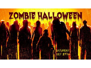 Zombie Halloween Party - start Oct 27 2018 0600PM