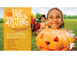 Annual YMCA Fall Festival - start Oct 20 2018 0530PM