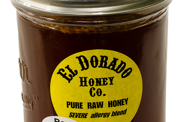 El Dorado Honey Co. Pure Raw Honey Severe Allergy Blend