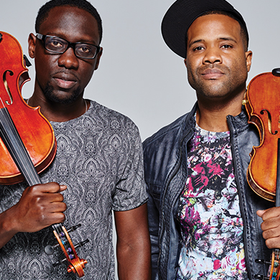 Black violin homepage event image