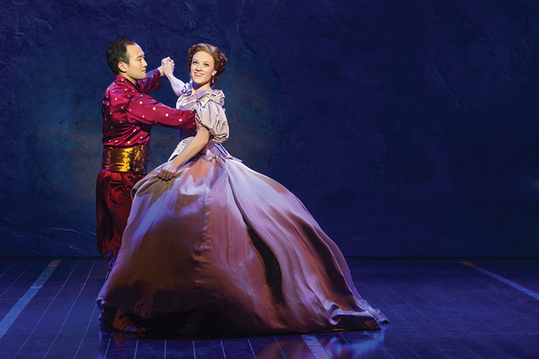 Saroyantheatre the king of siam and anna leonowens in king and i
