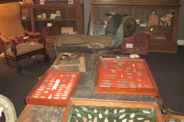 The Paw Paw Museum holds artifacts both ancient and modern, all telling the story of Port Deposit's history.