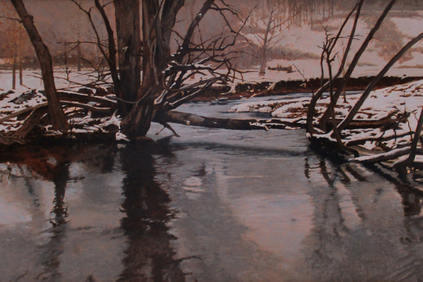 'Winter in Frog Hollow (study)'
