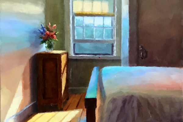 'Shelburne Cottage Bedroom' by Kim Hoechst.