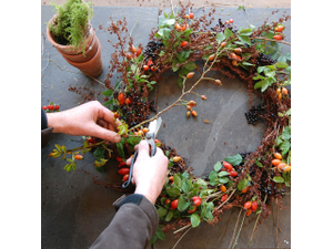 Make a Holiday Herbal Wreath - start Dec 06 2018 0500PM