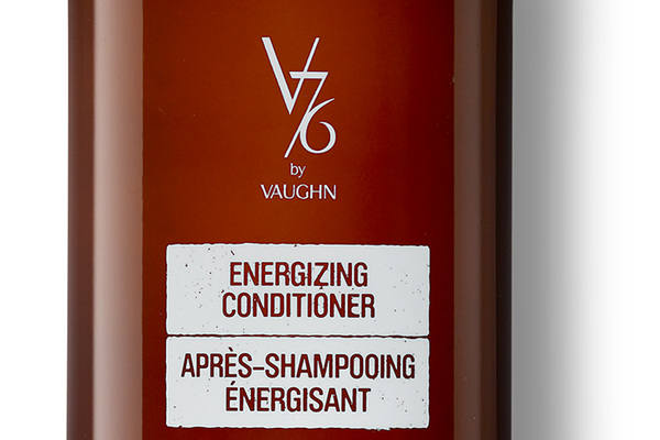 V76 by Vaughn Energizing Shampoo and Conditioner, $19 each
