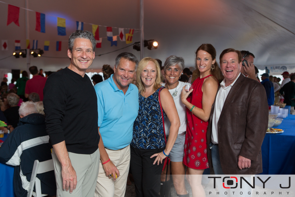 Nick James, Cary Melnyk, Chris Wilson, Jacquie Cohen Roth, Samantha Price, and Tom